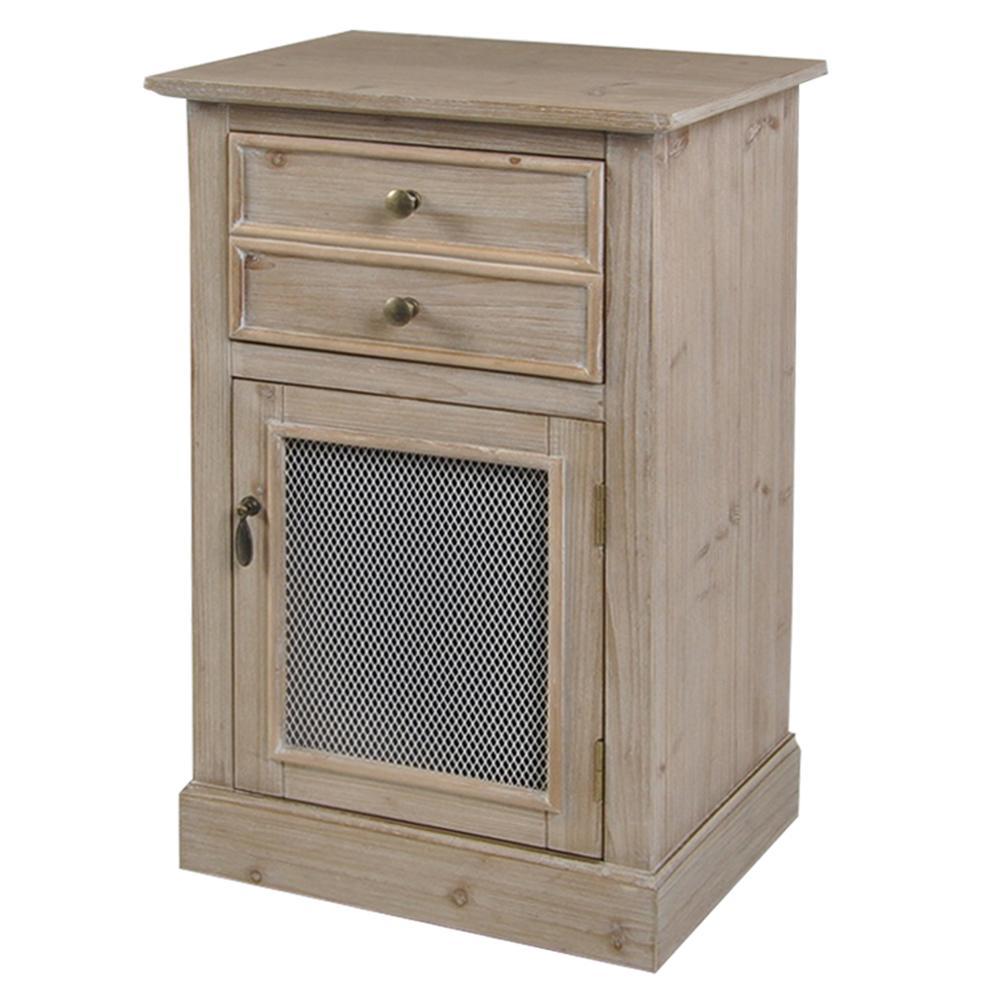 Home Depot Pine Kitchen Cabinets: StyleCraft Light Pine 1-Drawer And Door Wood Cabinet