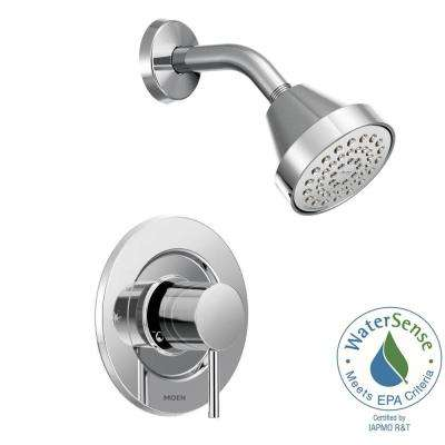 Align Single-Handle Posi-Temp Shower Faucet Trim Kit in Chrome (Valve Not Included)