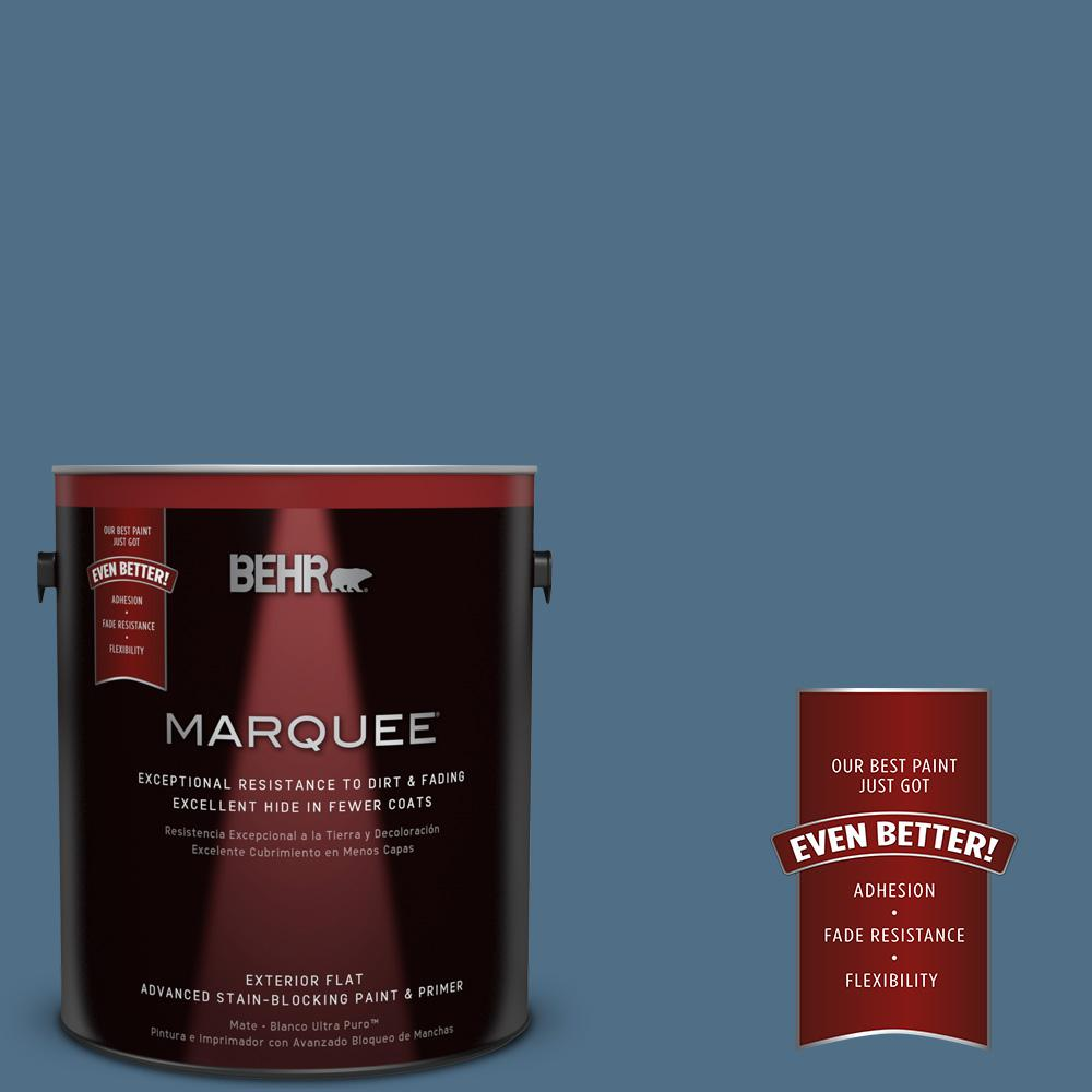 BEHR MARQUEE 1-gal. #S500-6 Shipyard Flat Exterior Paint
