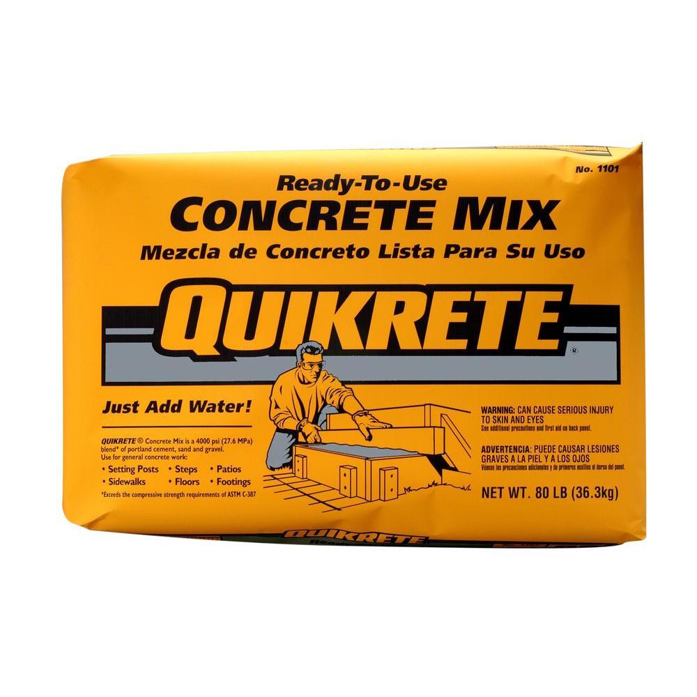 80 lb. Concrete Mix