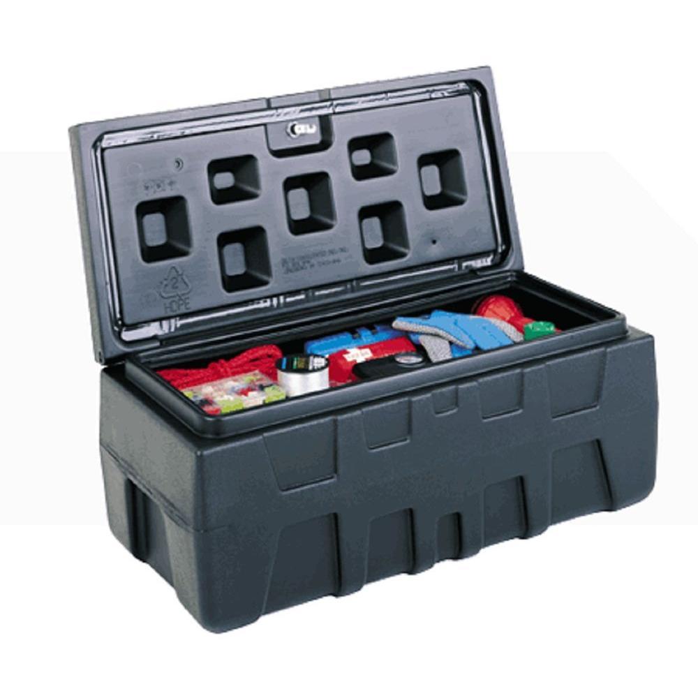 Titan Tool Box 32 In Poly Tool Box Storage Chest Tt