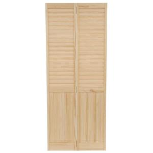Kimberly Bay 32 In X 80 In Louver Panel Solid Core