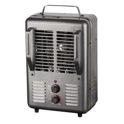 120-Volt Portable Electric Milk House Heater in Gray