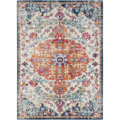 Demeter Ivory 6 ft. 7 in. x 9 ft. Area Rug