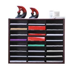 Concepts In Wood Cherry Literature Organizer by Concepts In Wood