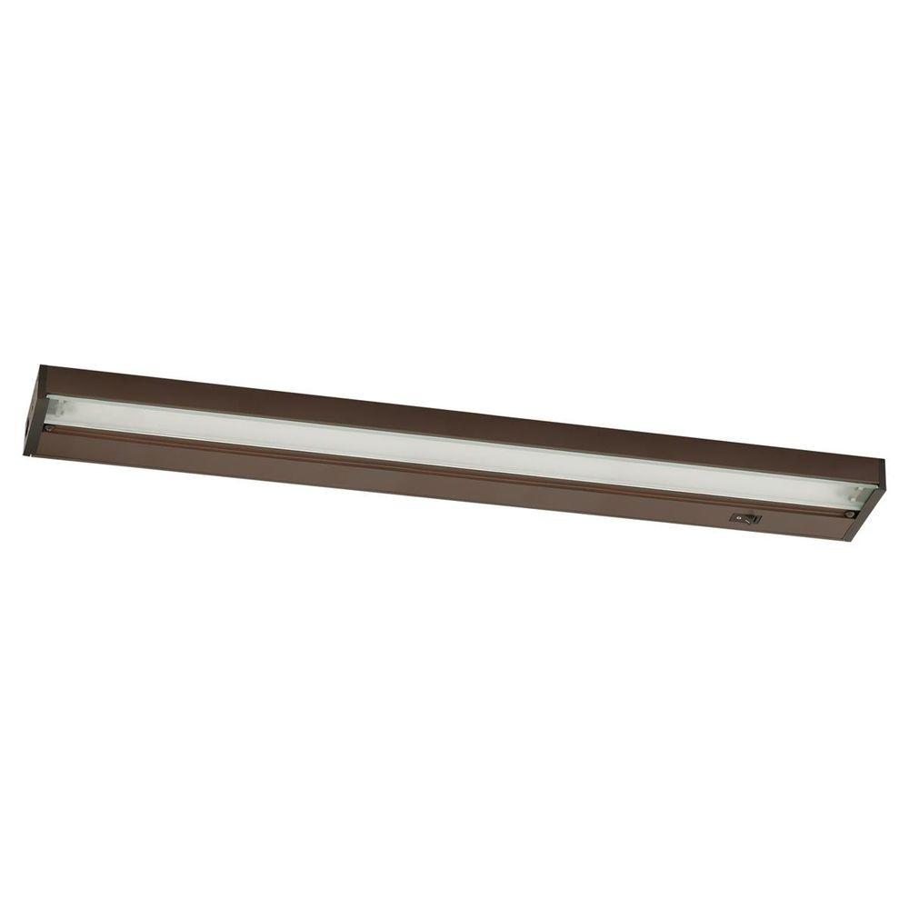 Inch Strip Lighting Kitchen Bronze