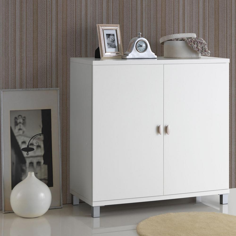 Marcy White Storage Cabinet