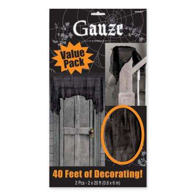 20 ft. x 2 ft. Halloween Gauze Cloth (2-Count )