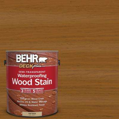 1 gal. #ST-134 Curry Semi-Transparent Waterproofing Wood Stain