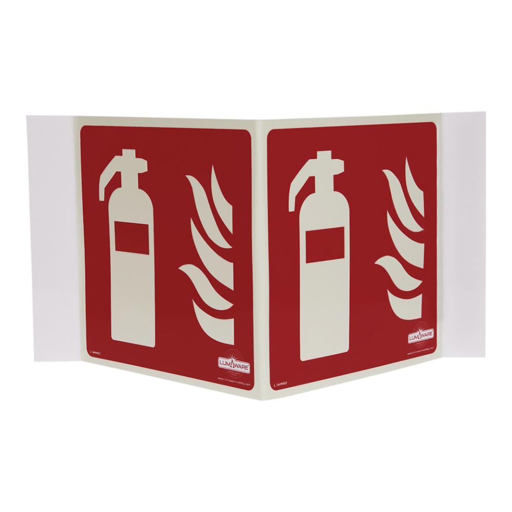 Illuminating Fire Extinguisher Panoramic Sign