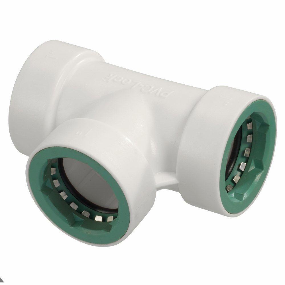 1 in. PVC-Lock Tee