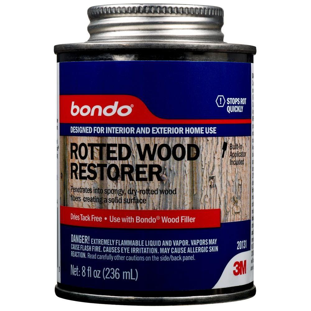 3m 8 Fl Oz Rotted Wood Restorer 20131 The Home Depot