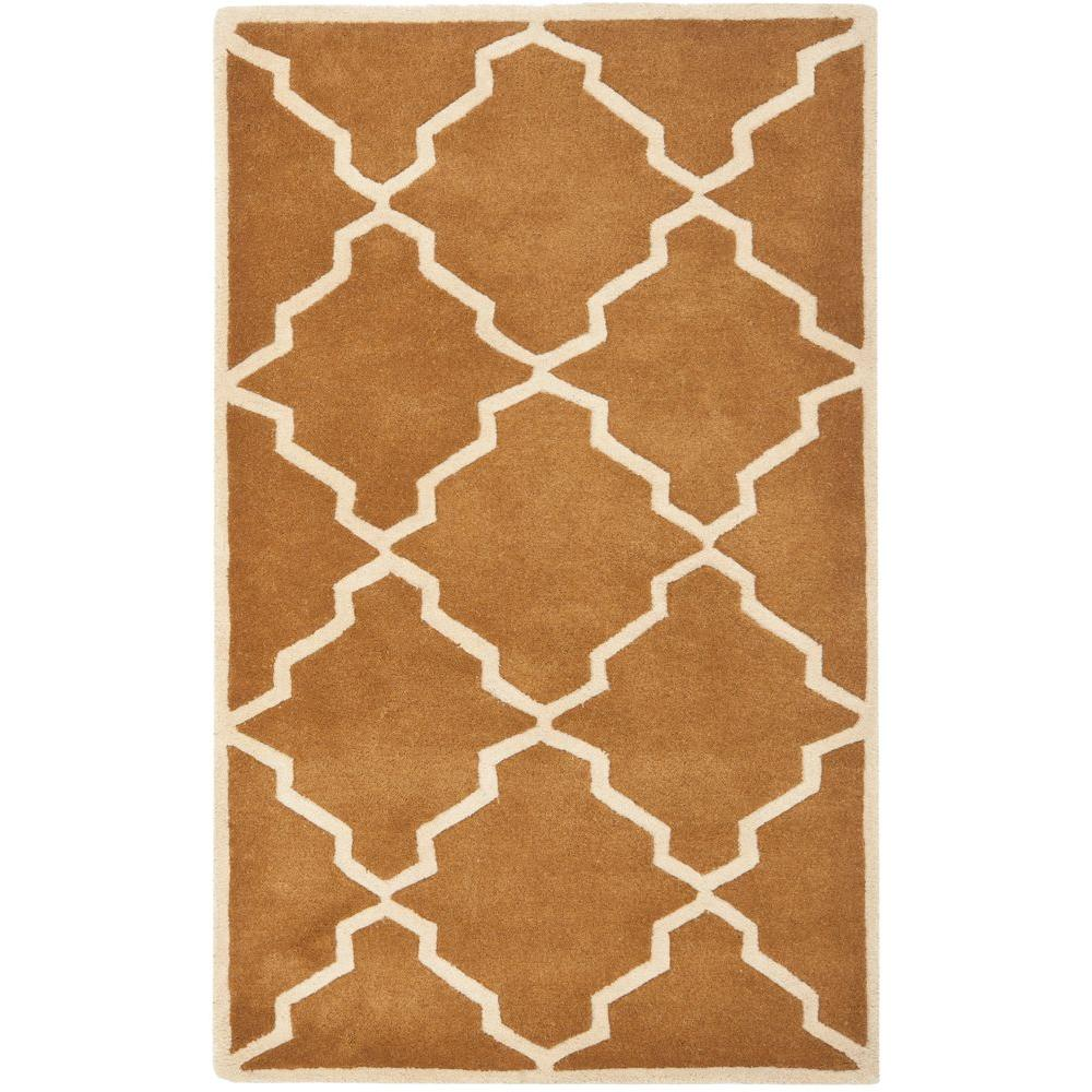 Chatham Brown 4 ft. x 6 ft. Area Rug
