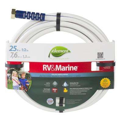 1/2 in. Dia x 25 ft. Marine/RV Water Hose