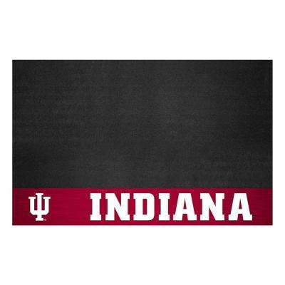 NCAA 26 in. x 42 in. Indiana University Grill Mat