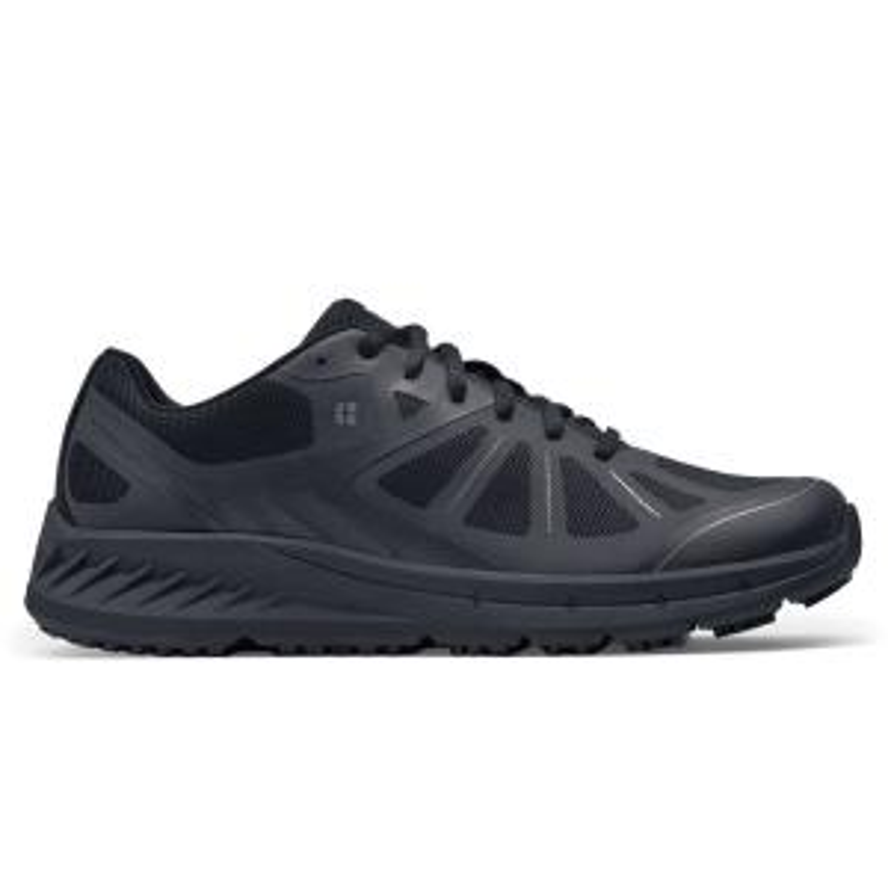 Fila Men S Memory Blake Slip Resistant Oxford Shoes Soft Toe Black Size 10 M 1sl15001 The Home Depot