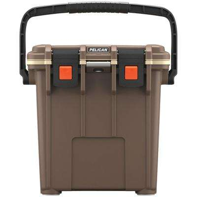 20 Qt. Elite Cooler in Brown