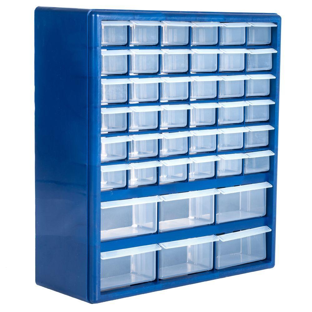 42-Compartment Storage Box Small Parts Organizer