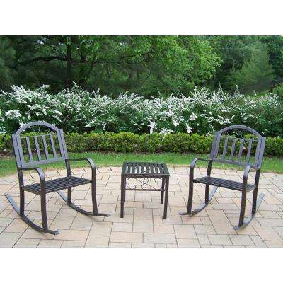 Rochester 3-Piece Patio Rocker Set