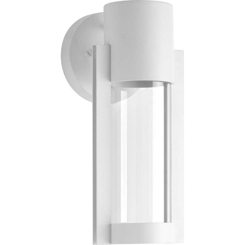 Progress Lighting Z-1030 Collection 1-Light White Outdoor ...
