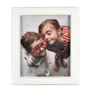 Longwood Rustic White 8 in. x 10 in. Picture Frame