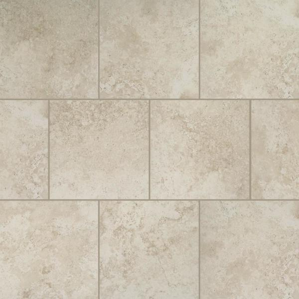 Daltile Castleview Beige 18 In X 18 In Porcelain Floor And Wall Tile 17 6 Sq Ft Case Cv201818hd1p6 The Home Depot