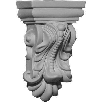 3 in. x 1-1/2 in. x 4-7/8 in. Polyurethane Orion Corbel