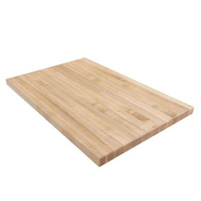 3 ft. L x 2 ft. D x 1.75 in. T Butcher Block Countertop in Finished Maple