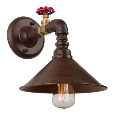 Revival 1-Light Authentic Rust Sconce