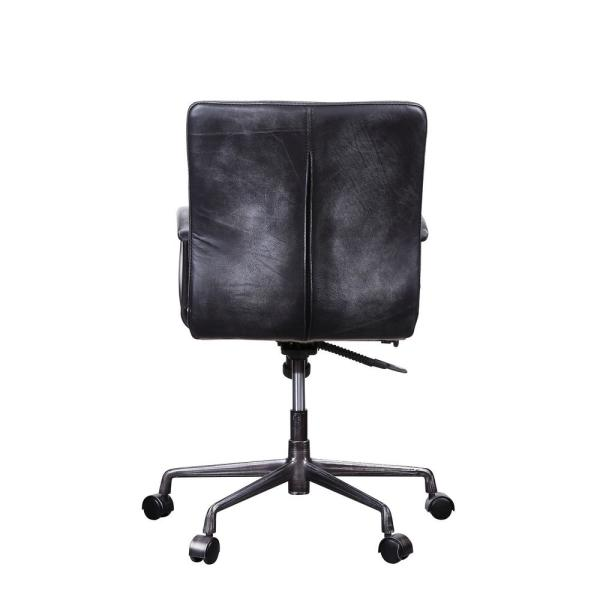 Groovy Acme Furniture Barack Vintage Black Top Grain Leather And Ncnpc Chair Design For Home Ncnpcorg