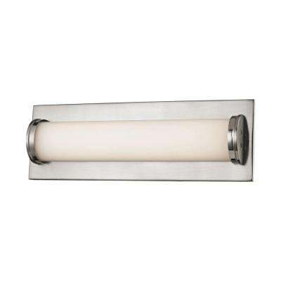 Barrie 1-Light Matte Satin Nickel LED Vanity Light
