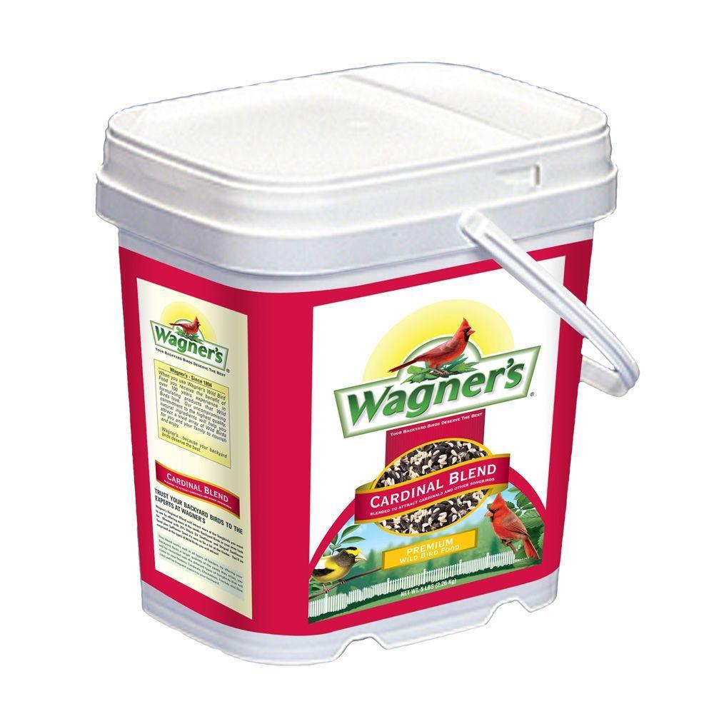 5.5 lb. Cardinal Bird Food Blend Bucket