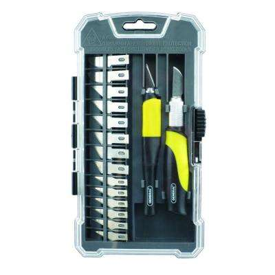 Pro Hobby Knife Set (18-Piece)