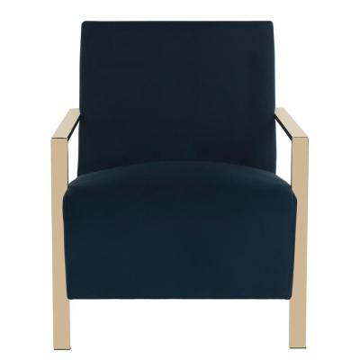 Orna Navy Accent Chair