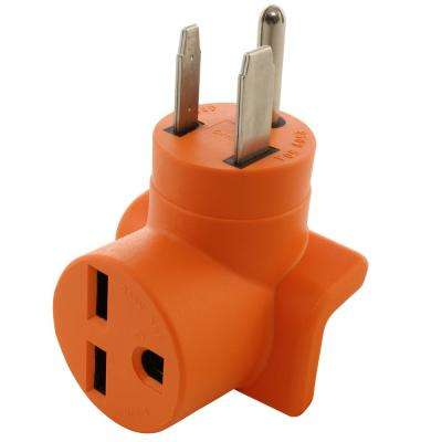 50-Amp to 30 Amp 250-Volt (6-50) Welder Plug (6-30) Commercial HVAC Female Adapter