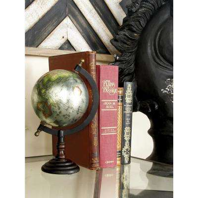 Traditional Decorative Globe with Grooved Stand