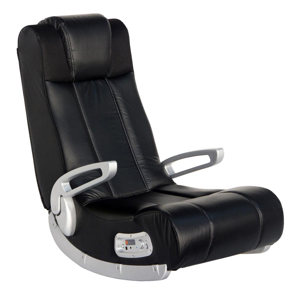 X Rocker Ii Black Vinyl Wireless Audio Rocking Chair