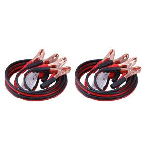 TWING Jumper Cables 2 Gauge 16 Feet Booster Cable for Battery Emergency 2AWG 16Ft