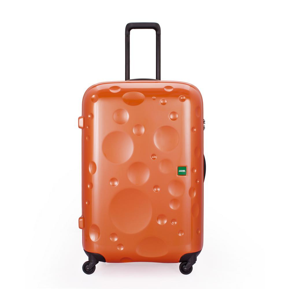 Luna 29.85 in. Copper Orange Hardside Spinner Suitcase