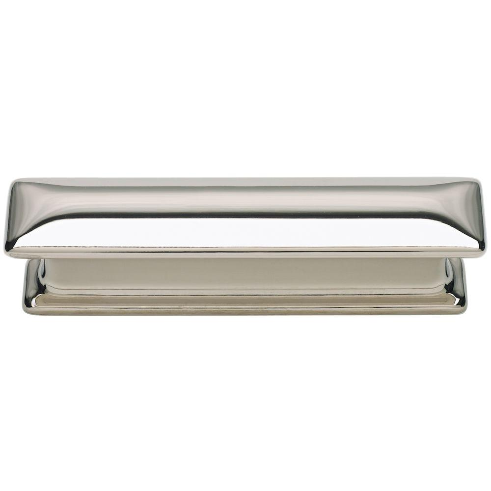 Paradigm Collection 4 in. Polished Nickel Cabinet Pull