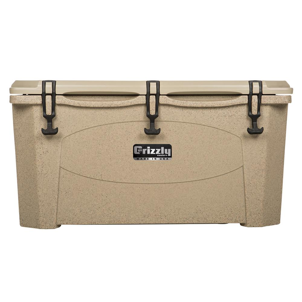 75 qt. Grizzly RotoMolded Cooler Sandstone
