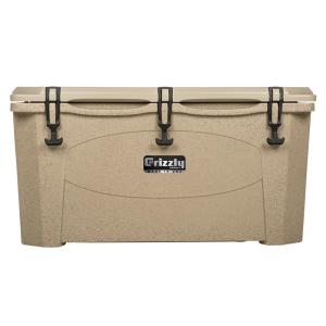75 qt. Grizzly RotoMolded Cooler Sandstone by