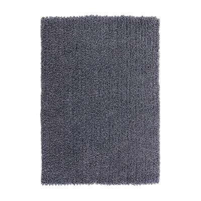 Elegance Shag Blue 8 ft. x 10 ft. Area Rug