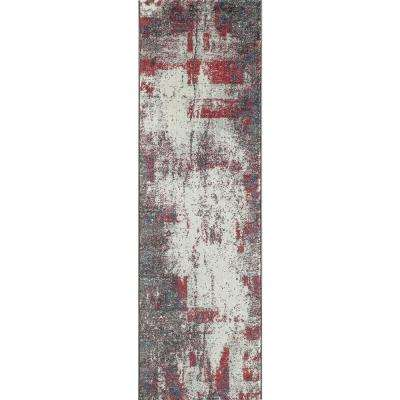 Loft Gray 2 ft. x 8 ft. Indoor Runner Rug