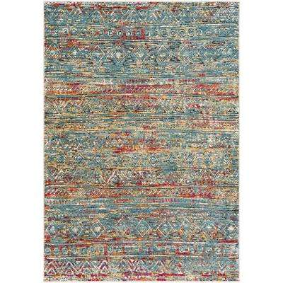 Caius Multi 2 ft. x 3 ft. Solid Area Rug