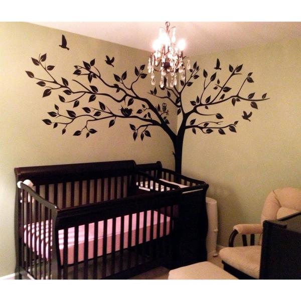 133 In X 90 In Super Big Tree Removable Wall Decal