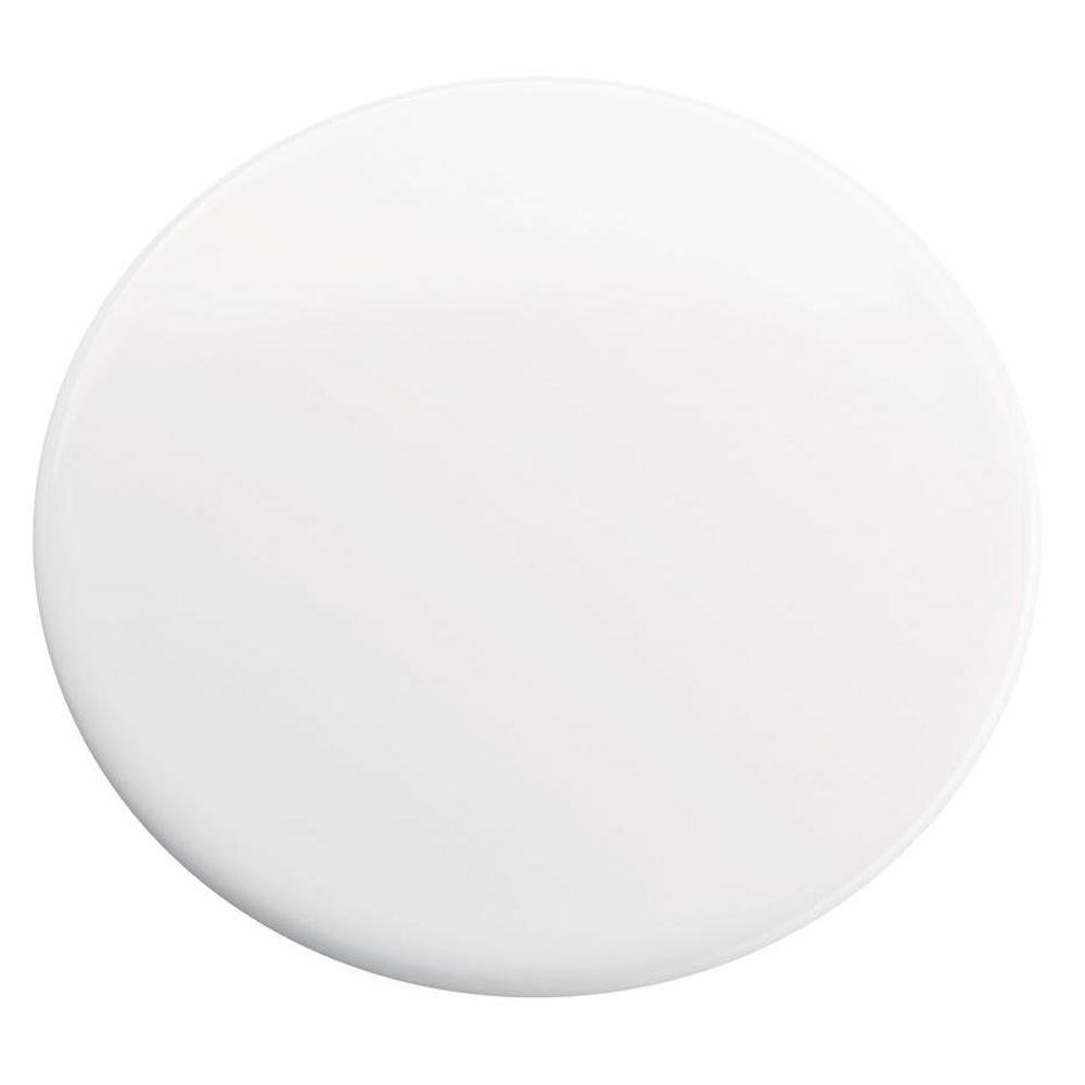 Sink Hole Cover In White