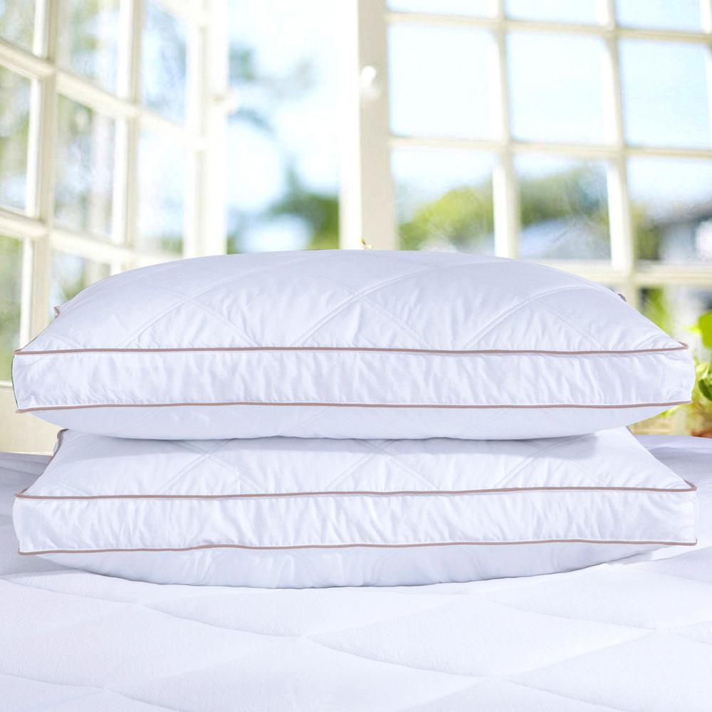 Medium Firm Down Blend Jumbo Pillow (Set of 2)