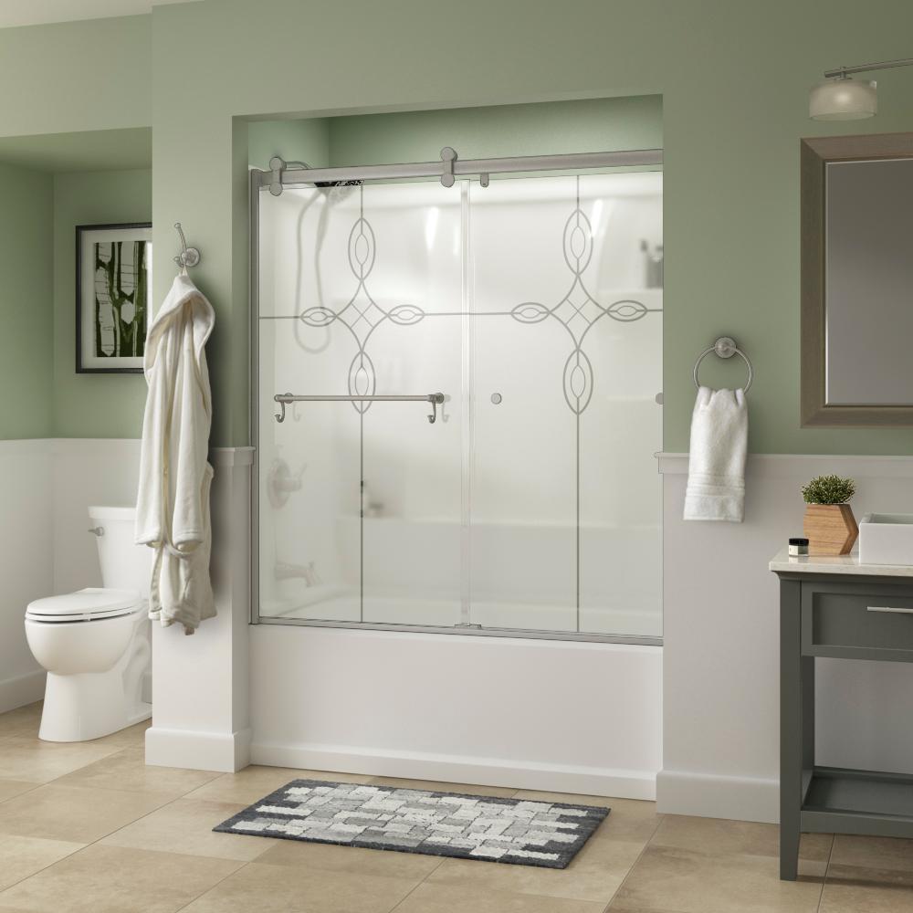 Portman Contemporary Shower And Tub Door Collection Bath