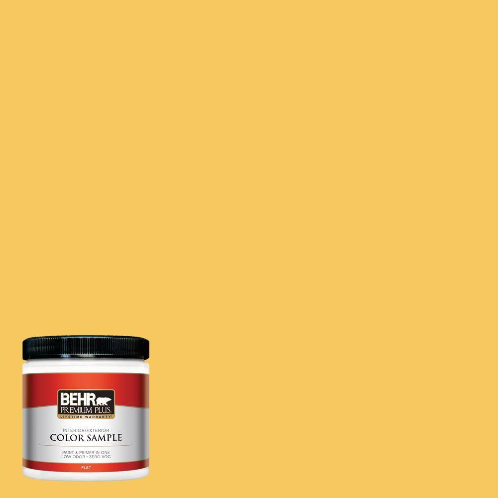 8 oz. #P280-5 Little Sun Dress Interior/Exterior Paint Sample